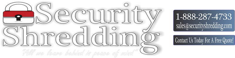 Security Shredding Logo
